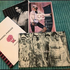 CHANEL coffee table books, catalogs, magazines